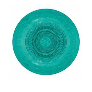 Prato vidro Fine Azul 1
