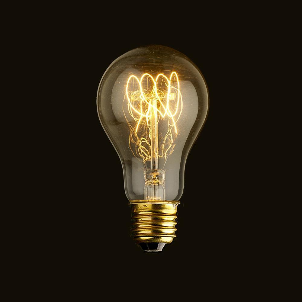 Lâmpada Decorativa Edison Bulbo A19 E27 – 110V Filamento – Singola Presentes Criativos